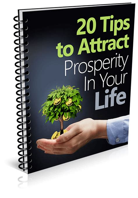 13 Top Tips On How To Attract by 20 Tips To Attract Prosperity In Your 3d Success Mystic