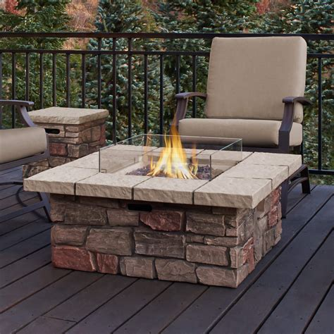 patio firepit top 15 types of propane patio pits with table buying