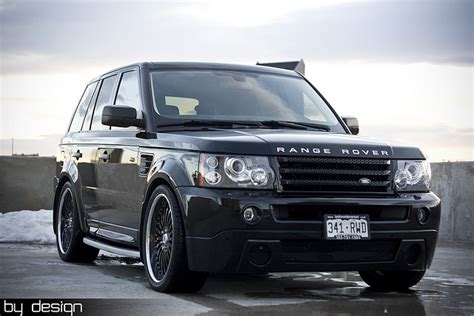 modified range rover sport range rover sport gets custom treatment autoevolution