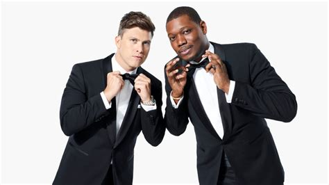 michael che colin jost instagram emmys 2018 what to expect from michael che and colin jost