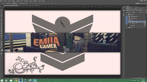 como fazer layout de banner cinema 4d como fazer banner de minecraft 3 youtube