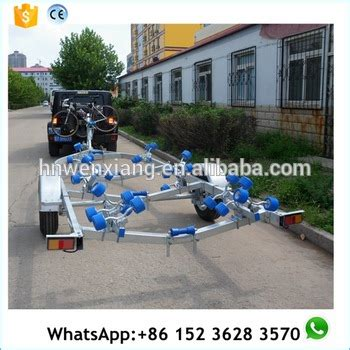 steel boat trailer for sale 4 8m stainless steel boat trailer made in china for sale