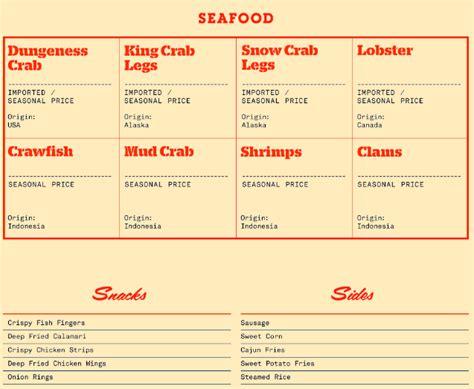Daftar Kerang Ajaib Bandung daftar menu holy crab terbaru 2018