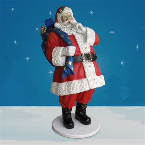 6 foot yab designs life sized outdoor santa decoration