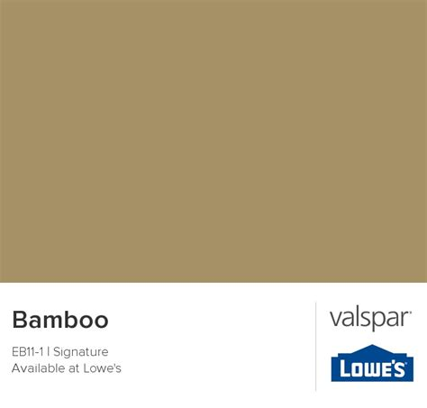 bamboo from valspar entryway
