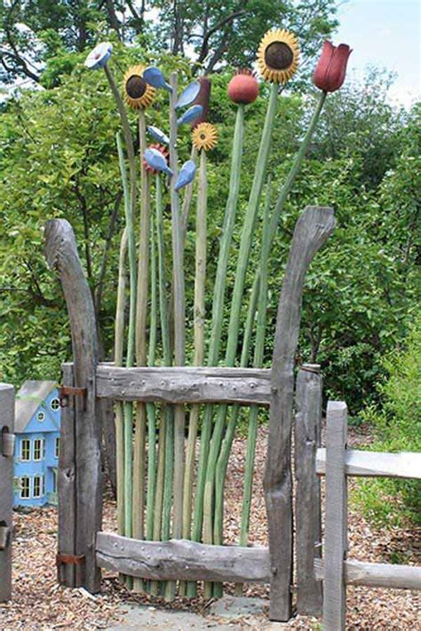 Garden Gate Ideas Wooden Gate And Whimsical Designs Studio Design