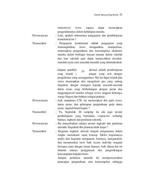 contoh teks wawancara dengan guru contoh anekdot lingkungan sekolah oliv asuss