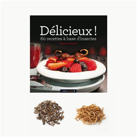libro cocina en casa con el libro de cocina con insectos