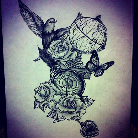 antique tattoos inspiration can be found everywhere