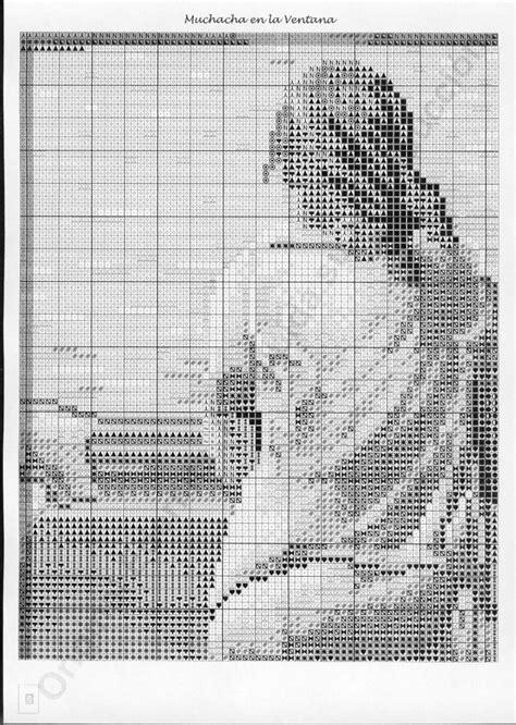 cuadros famosos en punto de cruz gratis patrones gratis punto de cruz cuadros famosos imagui