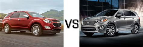 Kia Sorento Vs Chevy Equinox Compare New Chevrolet Cars Suv And Trucks In Thomasville Al