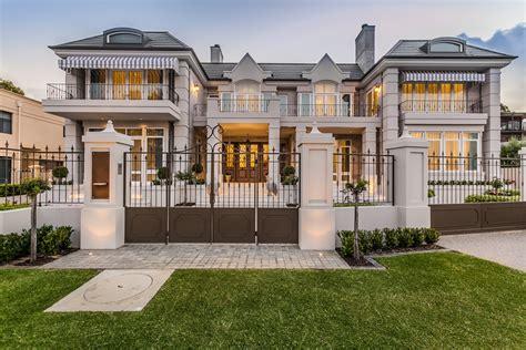 custom designed house contemporary exterior perth by streamline drafting and design french provincial custom home perth