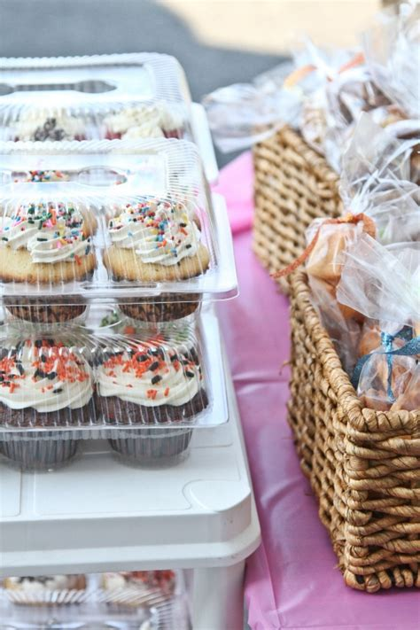 bake sale recipe winner s mores cupcakes frog prince paperie