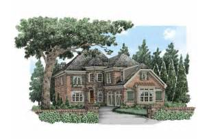 Luxury Home Plans For Narrow Lots Narrow Lot Luxury Hwbdo63630 European From Builderhouseplans