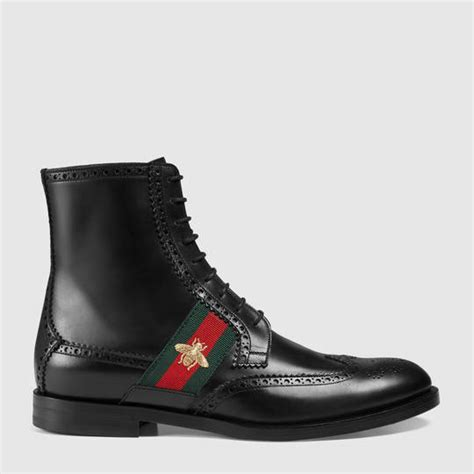 mens gucci boots boots for shop gucci