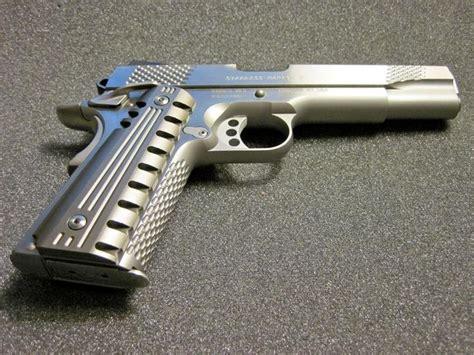 Handmade Pistols - custom colt 1911 custom aluminum pistol grips colt