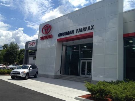 Toyota Dealer In Va Ourisman Fairfax Toyota Fairfax Va 22030 2251 Car