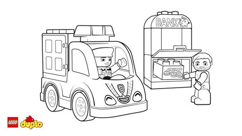 coloring pages of lego cars lego 174 duplo 174 police car coloring page coloring page