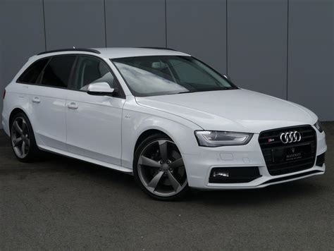 Audi A4 Black Edition by Used 2013 Audi A4 S4 Quattro Black Edition 5dr S Tronic