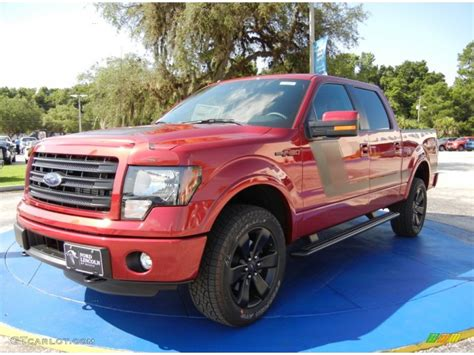 ruby ford f150 2014 ruby ford f150 fx4 supercrew 4x4 95468763 photo