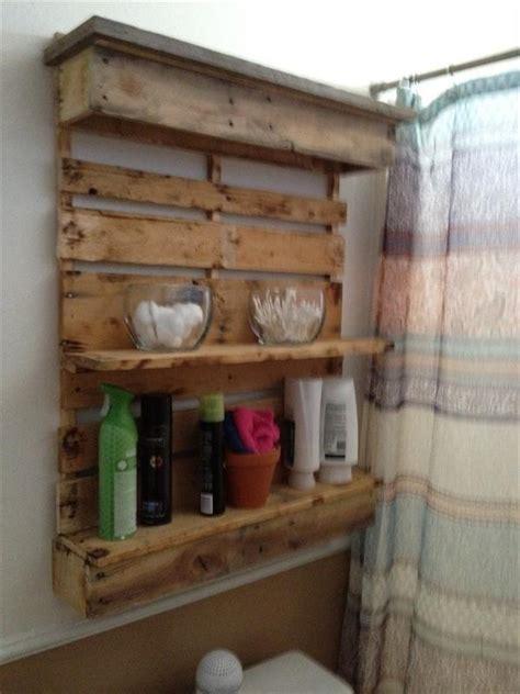 diy bathroom shelf ideas diy pallet bathroom shelf and storage ideas ideas with