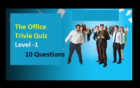 The Office Trivia by The Office Trivia Quiz Level 1 Quiz For Fans