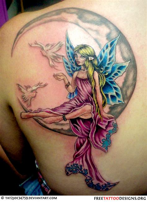 fairy tattoos cute evil small fairy tattoo designs and