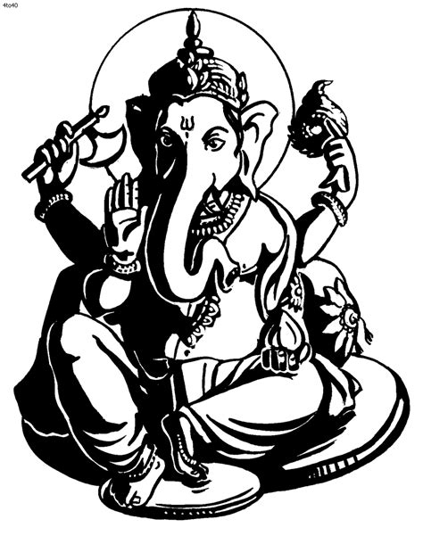 ganesha tattoo black and white ganesh tattoo600 x 804 96 3kb ganesha black and white
