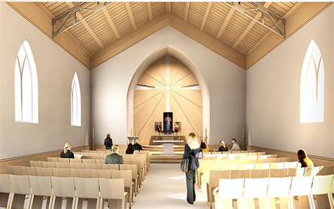 catholic church interior design catholic church on behance