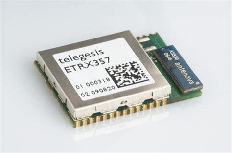 Zigbee Module antenova chosen by telegesis for zigbee smart energy modules