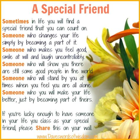 special friend quotes quotesgram