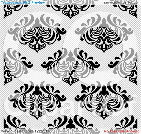 arabesque pattern ai clipart of a seamless black and white arabesque damask