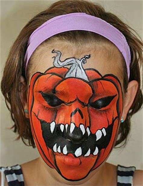 halloween face paint design amazing halloween face paintings 40 pics
