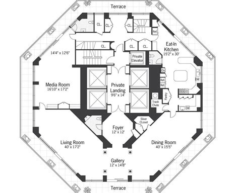 Octagon Shaped House Plans | 15 harmonious octagon shaped house plans house plans 49691