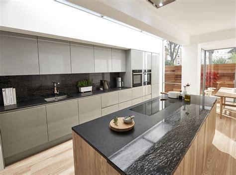 castor true handleless german style kitchen