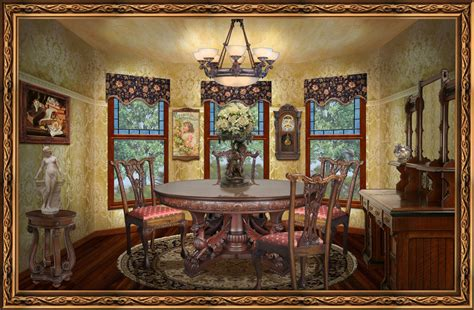 Victorian Dining Room by Gallery For Gt Victorian Dining Room