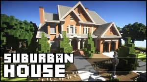 video house minecraft beautiful suburban house youtube