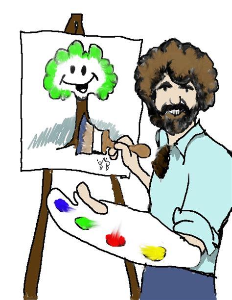 bob ross painting clip january 2010 gentlemanbeggar