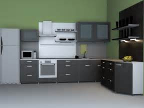 kitchen model modern western kitchen 3d model 3dsmax wavefront 3ds files
