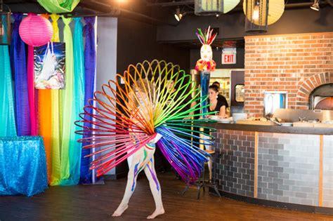 Cirque Du Soleil Inspired Bat Mitz H