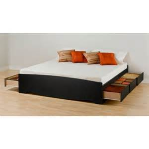Platform Bed With Built In Drawers Best 25 Beds With Storage Drawers Ideas Only On