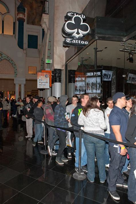 tattoo shops hollywood linkin park autograph signing at club at miracle