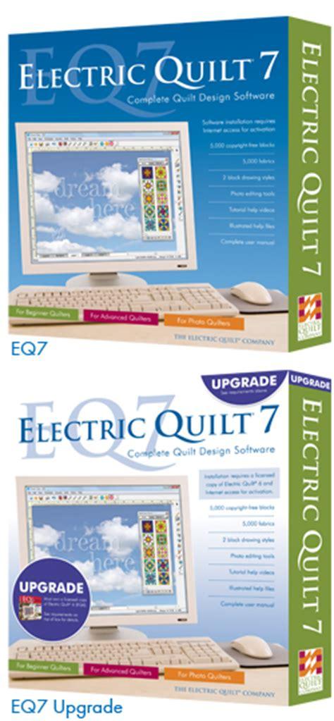 Eq7 Quilting Software by Eq7 Aankondiging