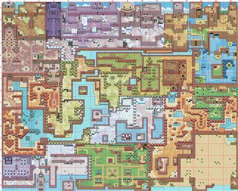 legend of zelda interactive map maps