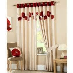 Poppy Kitchen Curtains Buy Poppy Curtains Buy Ring Top Curtains