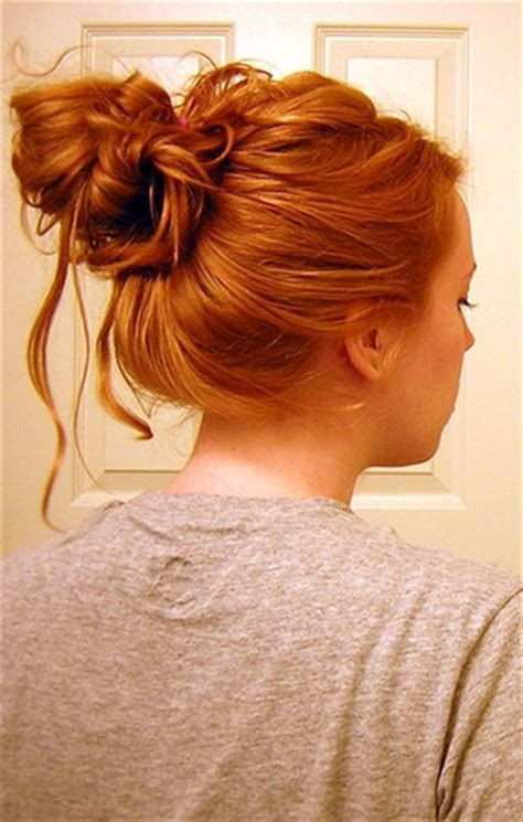 cute hairstyles in a bun cute messy bun hairstyles i feel pretty pinterest