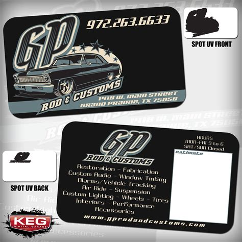 Car Audio Business Cards