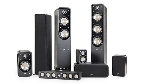polk audio rm home theater speaker system review