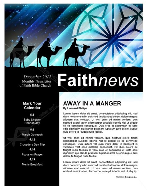 christmas newsletter templates for pages christmas messiah newsletter template template