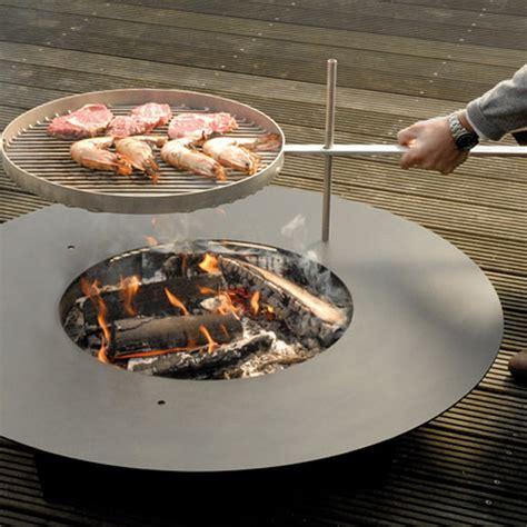 feuerstelle zum grillen fireplate radius design connox ch